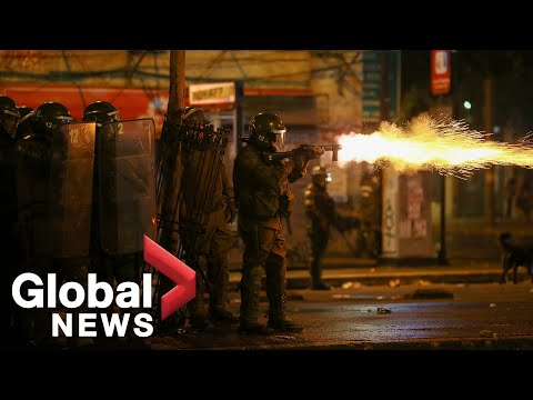 Chile Protests: Violent Clashes Rock Santiago After Massive Anti-government Rally