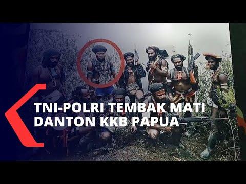 Danton KKB Papua Tewas Ditembak Mati Oleh Anggota TNI-Polri, Ini Catatan Kriminalnya