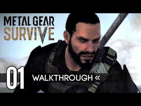 Metal Gear Survive | Gameplay Walkthrough | PART 1 - Intro Cutscene + Character Creation 【Full Game】