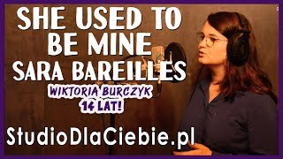 She Used To Be Mine - Sara Bareilles (cover by Wiktoria Burczyk) #1470