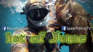 Spearfishing Greece - 1st of June