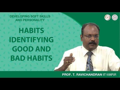Habits: Identifying Good And Bad Habits