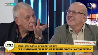 Carlos Campolongo analiza los vínculos Massa-Cristina y Macri-Radicalismo
