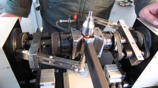 Armature rotor winding machine