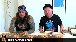 Corey Taylor Book Signing & Interview | America 51