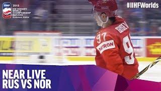 Gusev finds the far corner to make it 5-0 | Near Live | 2019 IIHF Ice Hockey World Championship
