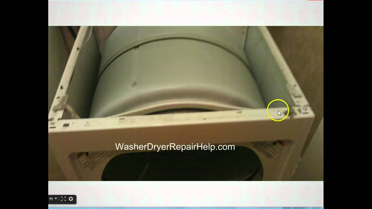 How To Take Apart Kenmore Elite Dryer