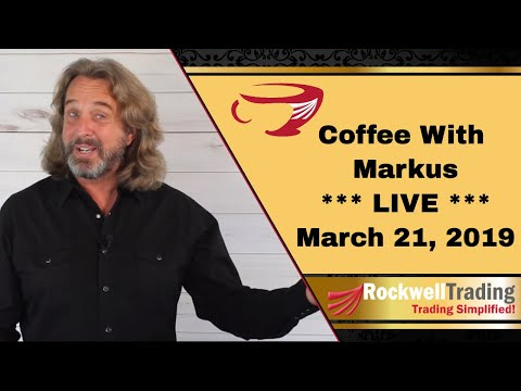 Coffee with Markus  – Live Show March 21, 2019