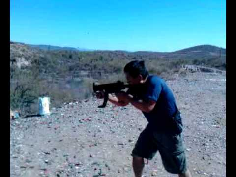 Testing Bellator Armaments SP89k clone in Full Auto (V)