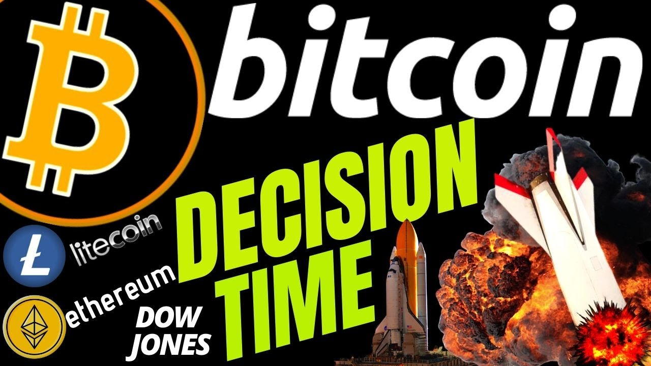 RALLY or CRASH for BITCOIN LITECOIN ETHEREUM and DOW JONES price crypto, analysis, news, trading