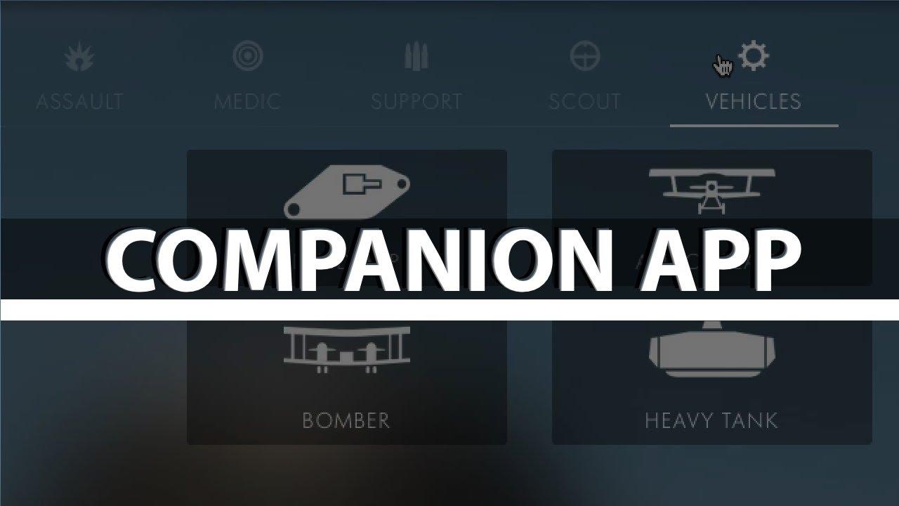 Battlefield 1 Companion