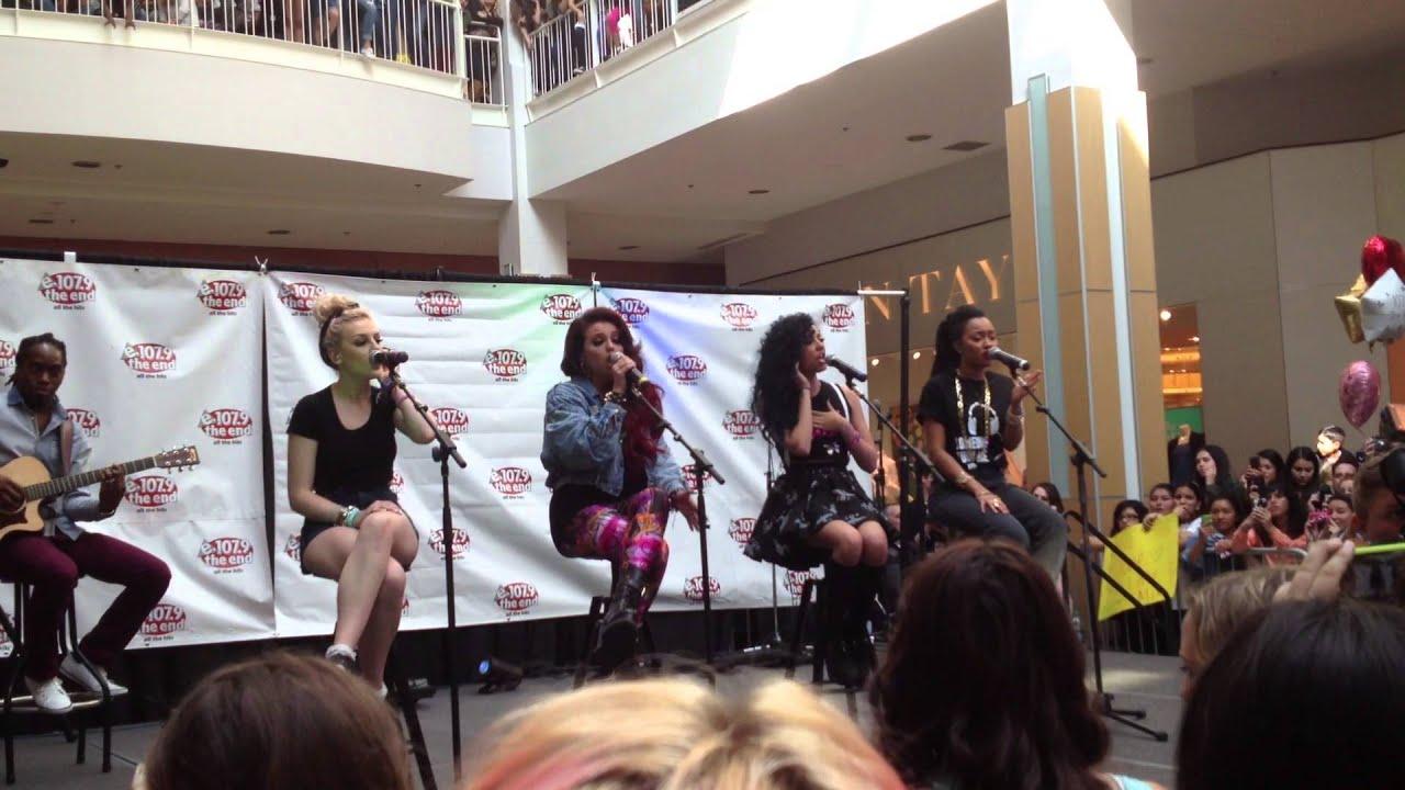 Little Mix Arden Fair Mall Sacramento, CA Part 1 - YouTube