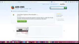 Windows #5 - Как скачать субтитры из YouTube?