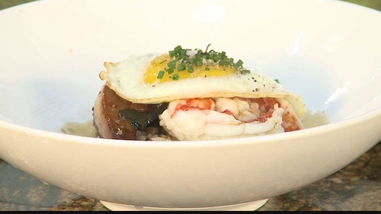 Hawaii's Kitchen: 40 Carrots at Bloomingdales:  Lobster Loco Moco and Big Island Tomato Salad Pt.3
