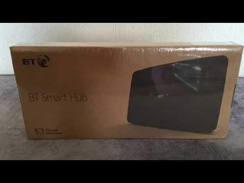 BT Smart Hub Unboxing And Setup