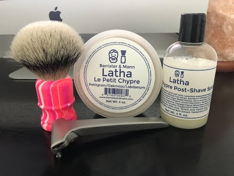 "B&M ""Le Petit Chypre"", WCS Silvertip Brush and Suppl Razor V1!!!!!"