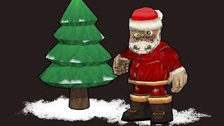 Кубезумие 2 Война Зомби. Прохождение новогодней миссии и убийство DEAD-Moroza! - Новый год 2015!