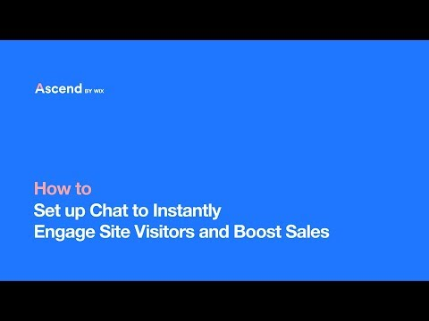 Capture Leads With Live Chat On Your Website | Ascend By Wix |Your All-in-One Business Solution