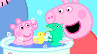 Peppa Pig Official Channel | How's Peppa Pig as a Babysitter? | Peppa Pig Bath Time