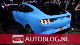 Dit is de nieuwe Ford Mustang Mach-E