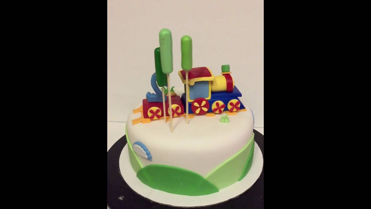 Bob The Train Birthday Cake YouTube