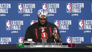 LeBron James | Game 6 Eastern Conference Final Press Conference