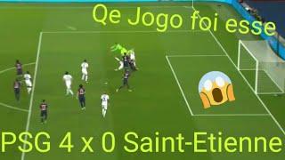 PSG 4 x 0 Saint-Etienne Sem Neymar Psg Ganha Melhores Momentos e gols