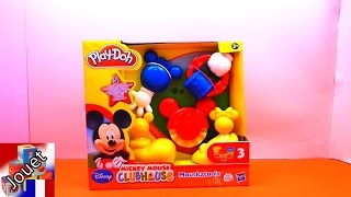 Play doh Mickey Mouse Clubhouse français (Unboxing) - Mickey Mouse Clubhouse