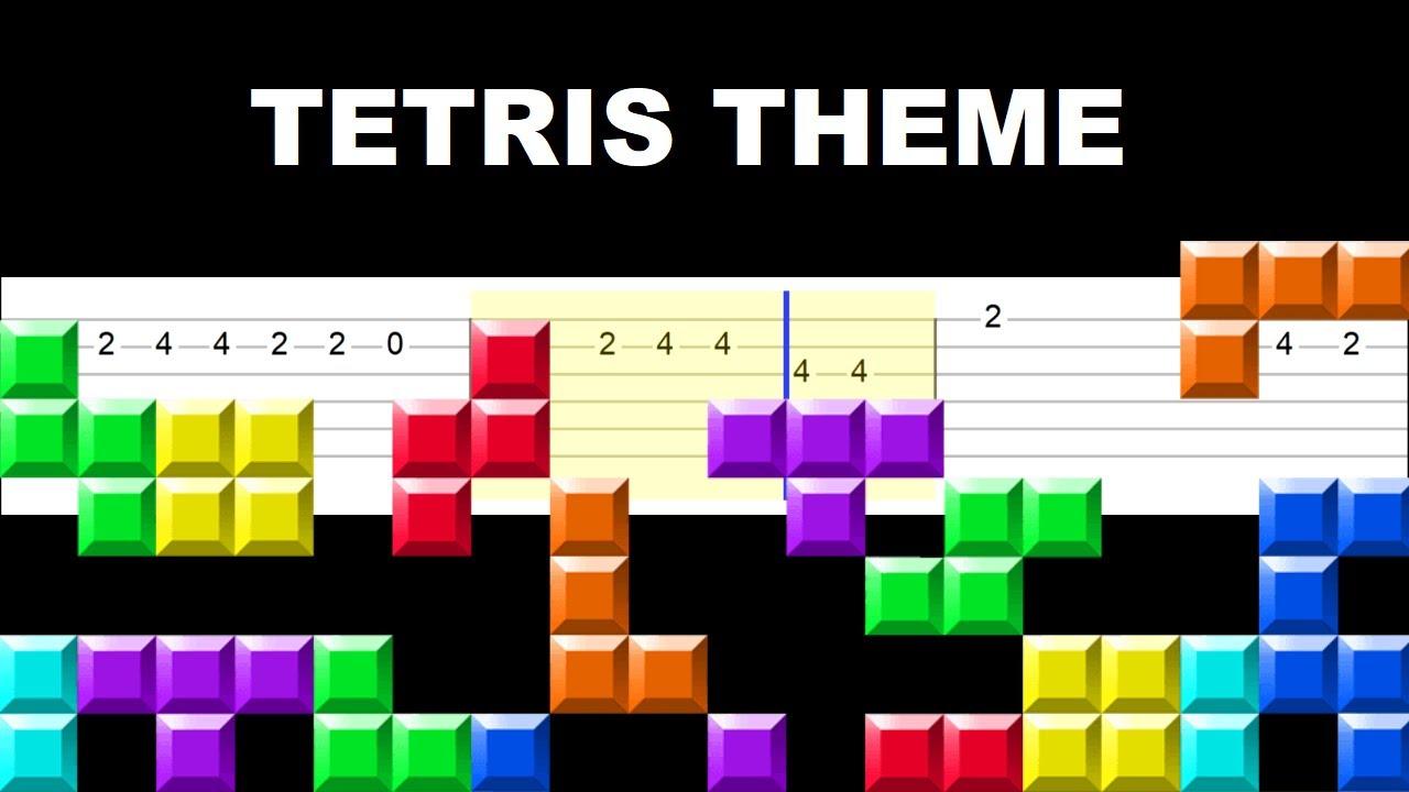 Tetris Theme (Easy Guitar Tabs Tutorial)