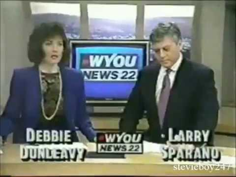 WYOU-TV Scranton/Wilkes-Barre, PA. - News 22 6PM Preview and Open (1992)