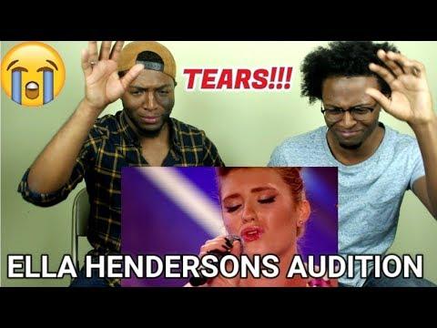Ella Henderson's audition - The X Factor UK 2012 (REACTION)