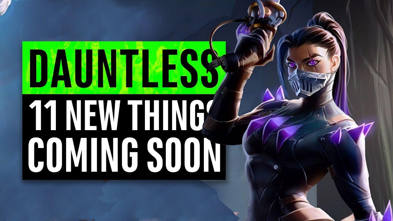 Intrépido | 11 cosas nuevas próximamente (Free-to-Play) + vídeo