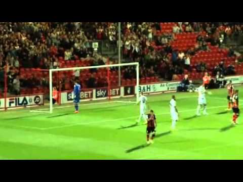 A.F.C. Bournemouth 1 v 3 Leeds United Full Match Highlights