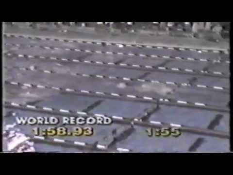 1983 Long Course Nationals 200 meter backstroke - Rick Carey