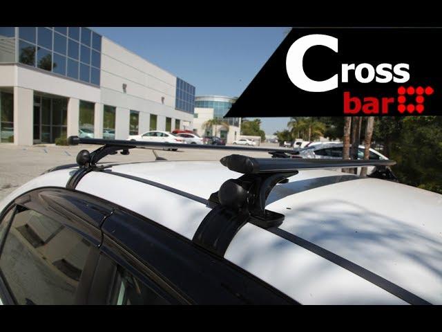 universal rooftop roof rack crossbar
