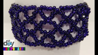 Легкий Браслет из Бисера Мастер Класс/ Tutorial: Bracelet from Beads!