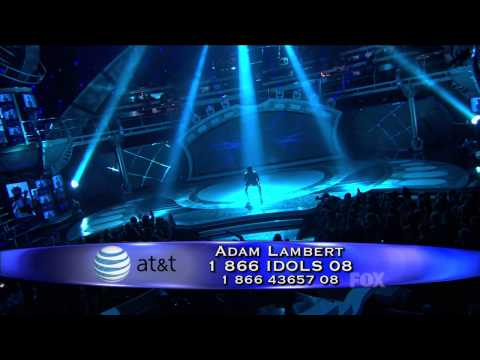 ISOLATED VOCALS: Adam Lambert - Mad World - American Idol Top 8 - April 7, 2009
