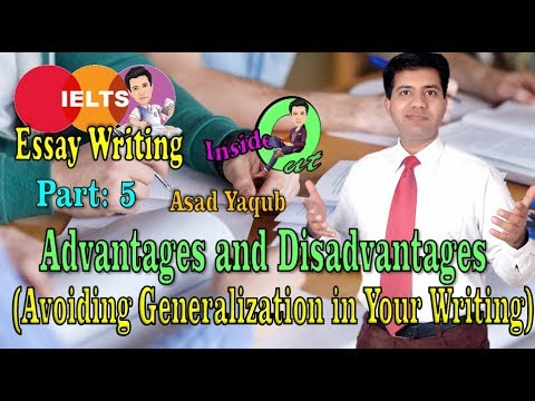 generalization essay writing No matter what field you're in, you will need to write an essay at some point in  your life essays can be written in a variety of fields of study, styles, and genres  the amount of time  avoid generalizations craft prose that are.