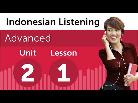Indonesian Listening Practice - Deciding When to Move in Indonesia