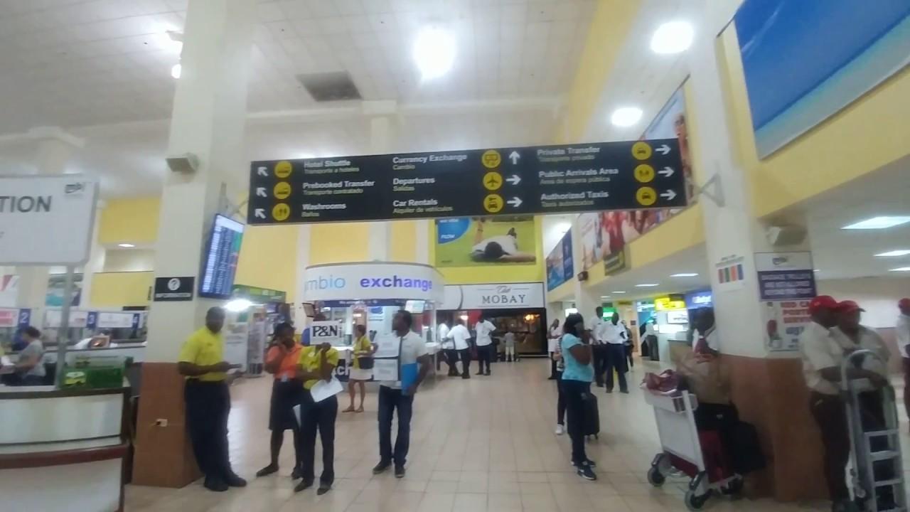 Flughafen Montego Bay Abflug