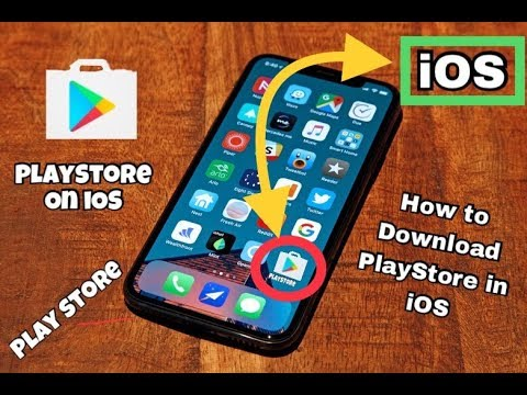 How To Download Play Store On IPhone X For Free {No Computer,jailbrake,Cydia)