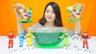 파워레인저 애니멀포스 장난감 입욕제 Bathball 피겨 목욕놀이 물놀이 장난감 Power ranger bathball toys