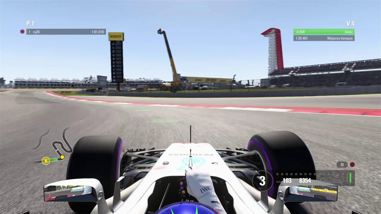 F1™ 2017   Austin   Hot lap   PS4 - YouTube