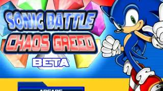 sonic battle chaos greed silver vs cream
