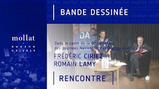 """Rencontre littéraire """"Frantz Fanon"""" avec Romain Lamy et Frédéric Ciriez"""