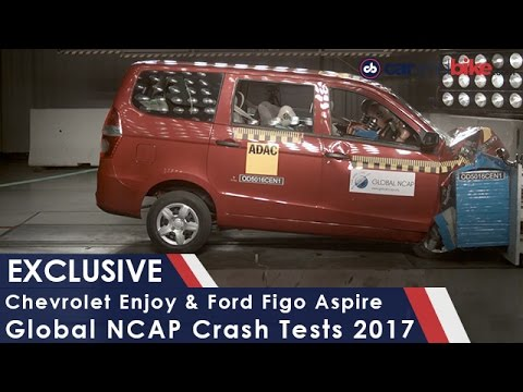 Chevrolet Enjoy Fails Global NCAP Crash Test, Ford Aspire Does Well - NDTV CarAndBike