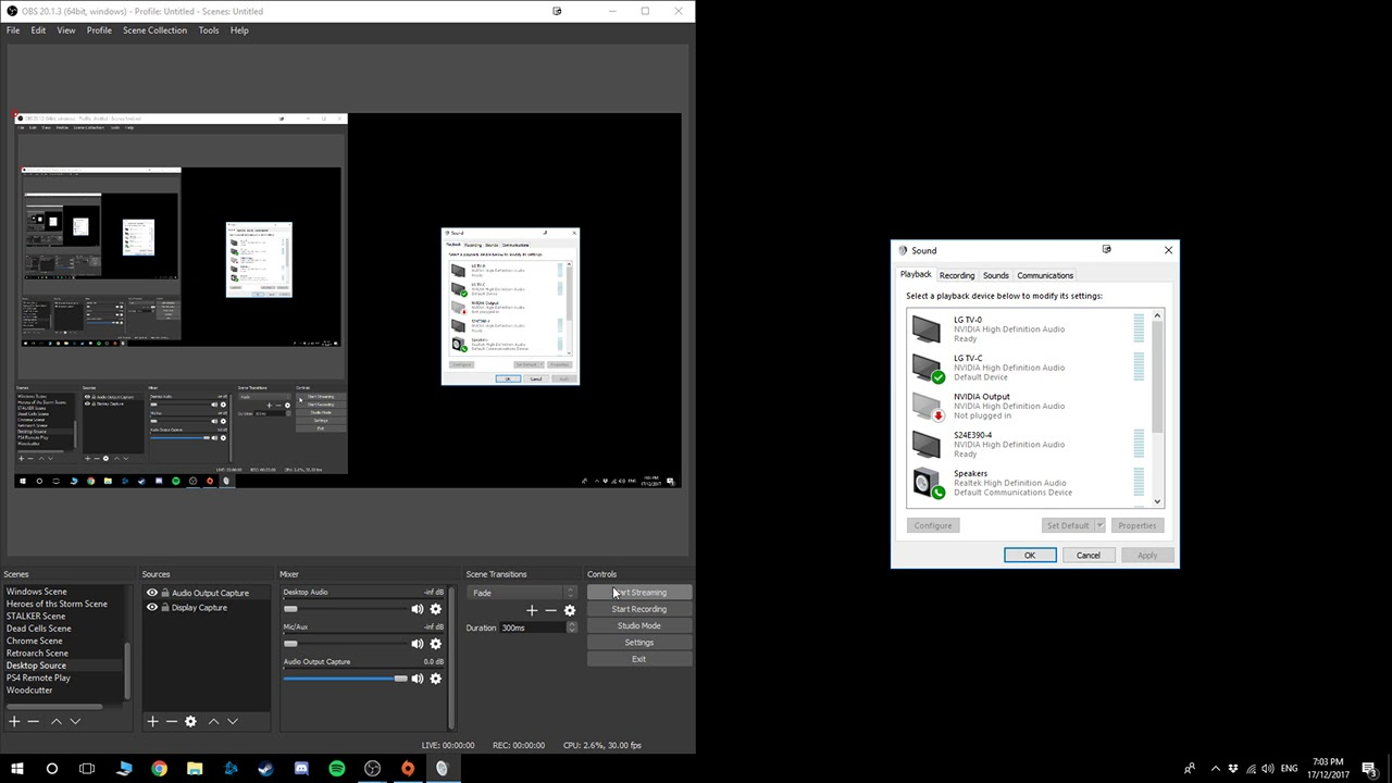 How To Mute Discord/Skype/Teamspeak from OBS (While Still Using It)