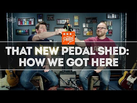 That Pedal Show – That NEW Pedal Shed: Arrived & Barely Standing – Behind The Scenes Intro