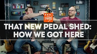 That NEW Pedal Shed: Arrived & Barely Standing – Behind The Scenes Intro