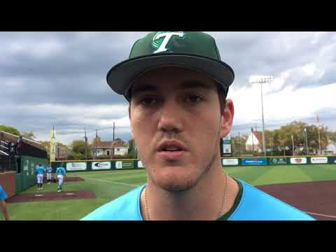'The adrenaline was going': Keagan Gillies recovers for another Tulane baseball win